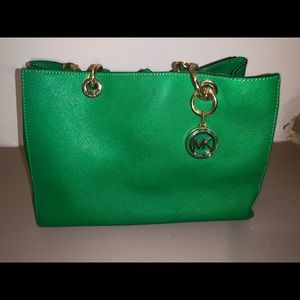Michael Kors large emerald Cynthia